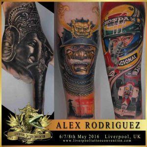 alex rodriguez liverpool tattoo convention. Black Bedroom Furniture Sets. Home Design Ideas