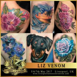 liz venom liverpool tattoo convention. Black Bedroom Furniture Sets. Home Design Ideas
